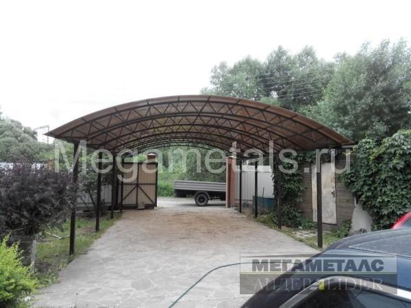 Навесы из поликарбоната для дачи Михнево