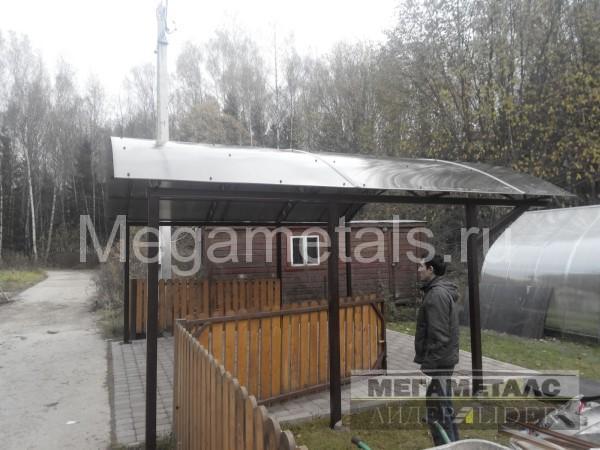 Навесы для дачи из поликарбоната Железнодорожный