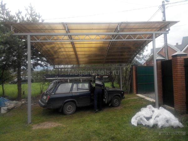 Навесы для автомобилей из поликарбоната Красноармейск