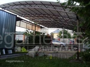 Навес из поликарбоната для авто Красногорск