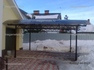 Навесы для дачи из поликарбоната Красногорск