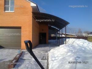 Навесы для дачи из поликарбоната в Пушкино