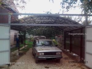 Навесы для машины из поликарбоната Красногорск