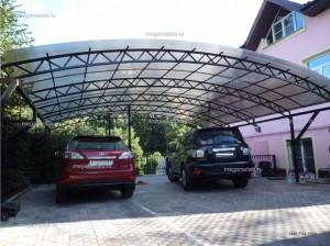 Навесы для автомобилей из поликарбоната Егорьевск