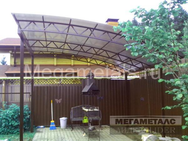 Навесы из поликарбоната для дачи Мытищи