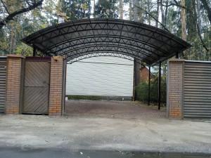 Навесы для дачи из поликарбоната Домодедово