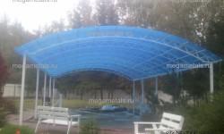 навесы для бассейнов на даче