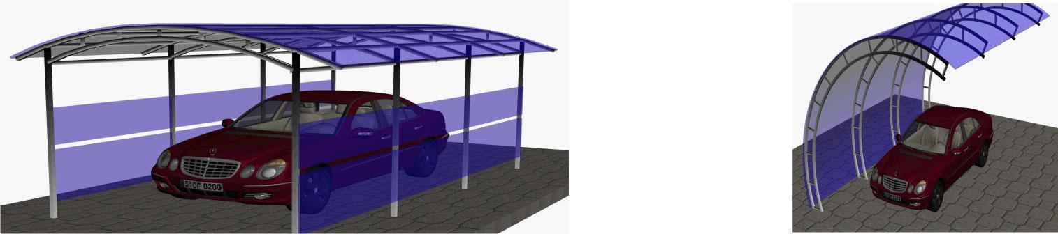 Навес для машины из поликарбоната своими руками цена