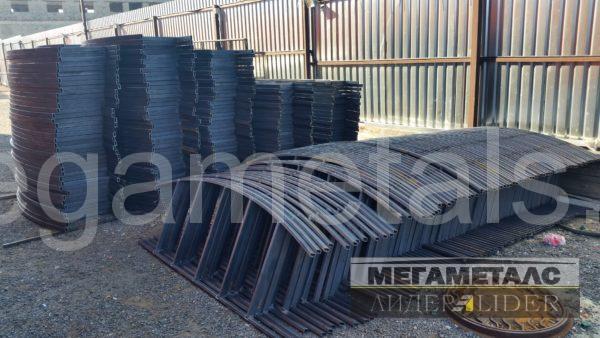 Металлические газонные ограждения обеспечивают эффективное зонирование участка в городе  Домодедово