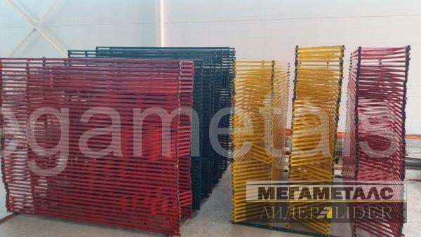 Металлические газонные ограждения Дмитров 150 руб/м