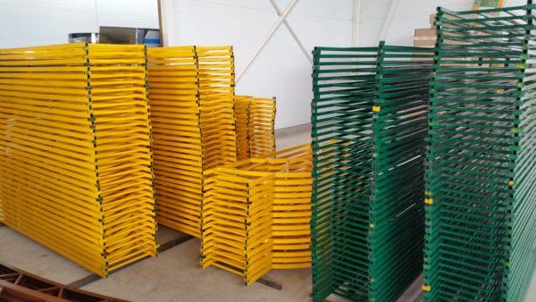 ограждения для газонов металлические в Коломне