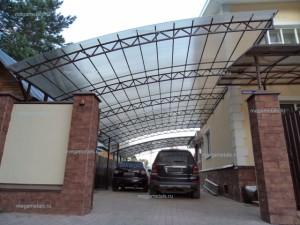Навесы для автомобилей из поликарбоната Чехов